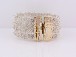gemma baker diamond knitted cuff