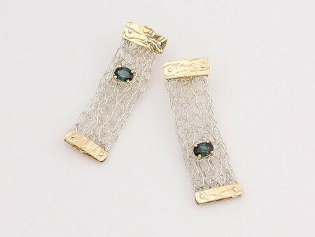 Gemma Baker Tourmaline Knitted Earings