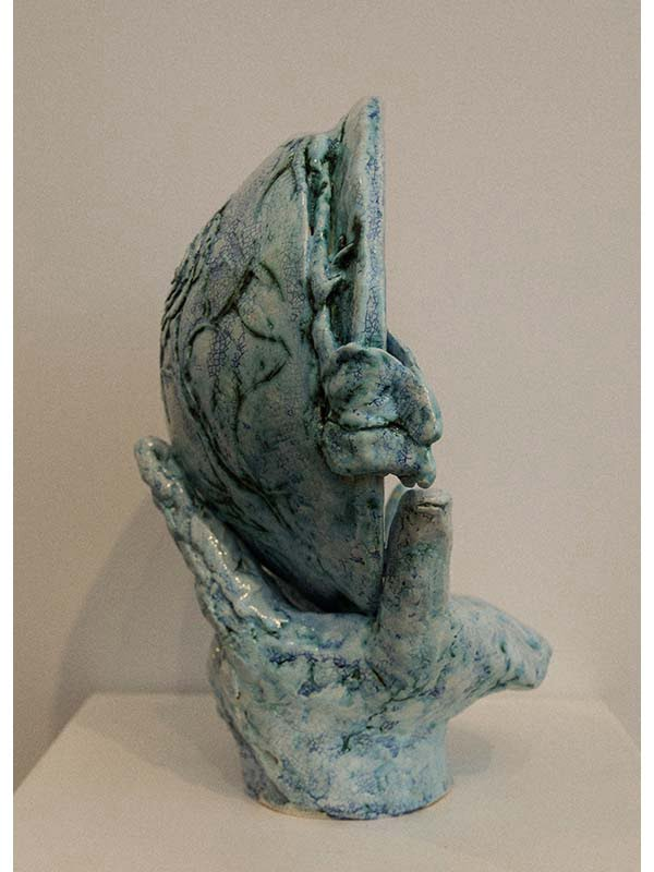 Lauren Rudd Handling Your Dreams Of Growth Sculpture
