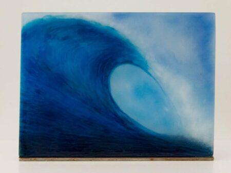 Vivienne Jagger Rolling Wave Glass Panel Front
