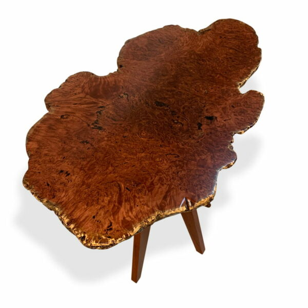 47 Natural Jarrah Burl Bar Table Top