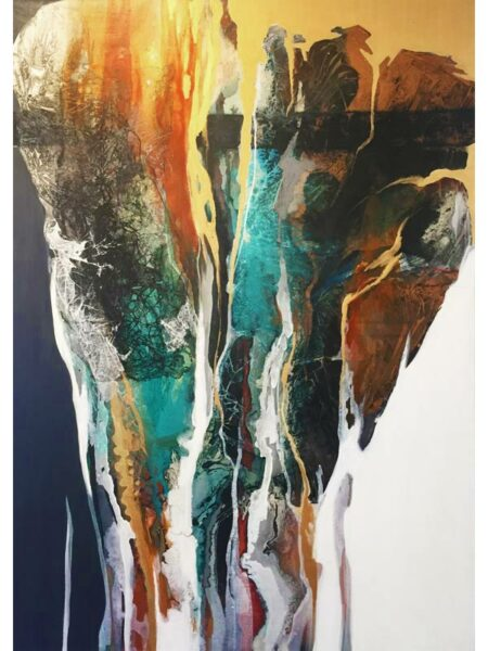 Astrid Dahl Ginger Turmeric Painting