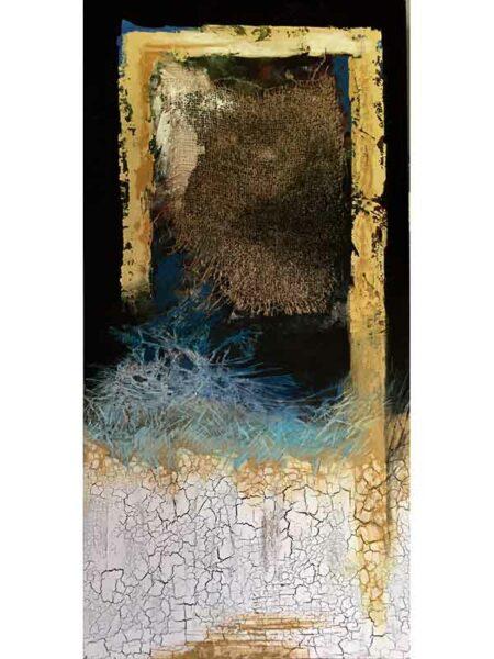 Astrid Dahl Through The Window Desert Breezes Blow Painting