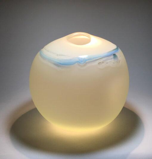 Peter Reynolds Corious Blues Art Glass