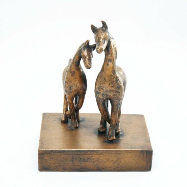 Yuko Takahashi Going Home Bronze Sculpture