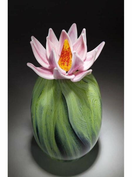 Eileen Gordon Cactus Sclupture Glass Top