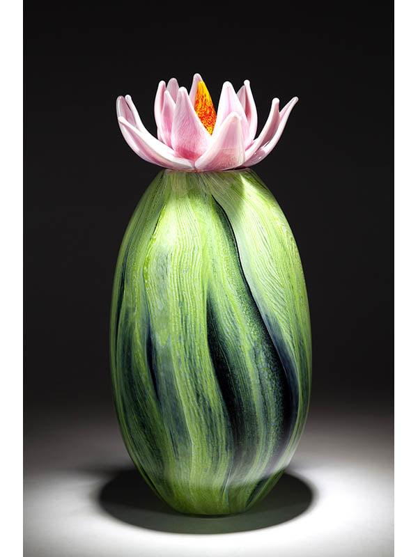 Eileen Gordon Cactus Sculpture Glass