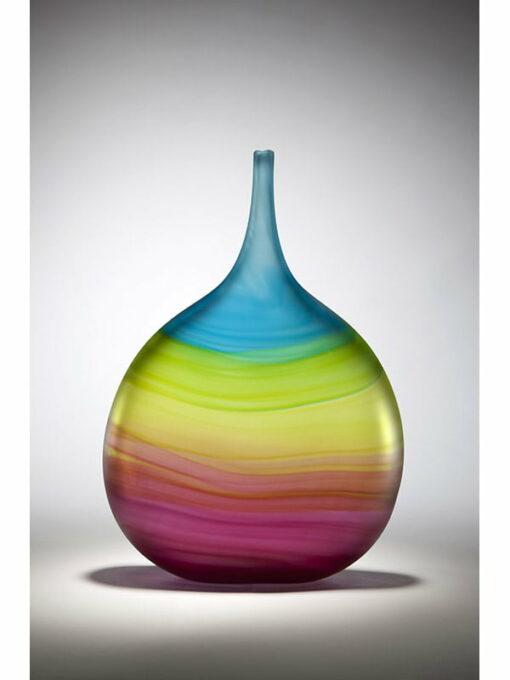 Eileen Gordon Ocean Sunset Bottle Flat Glass