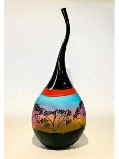 grant donladson under the mily way glass vase