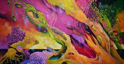 John Mcintosh Europa Sky Painting