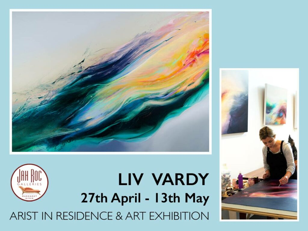 liv vardy artist in residence and exhibition at jahroc