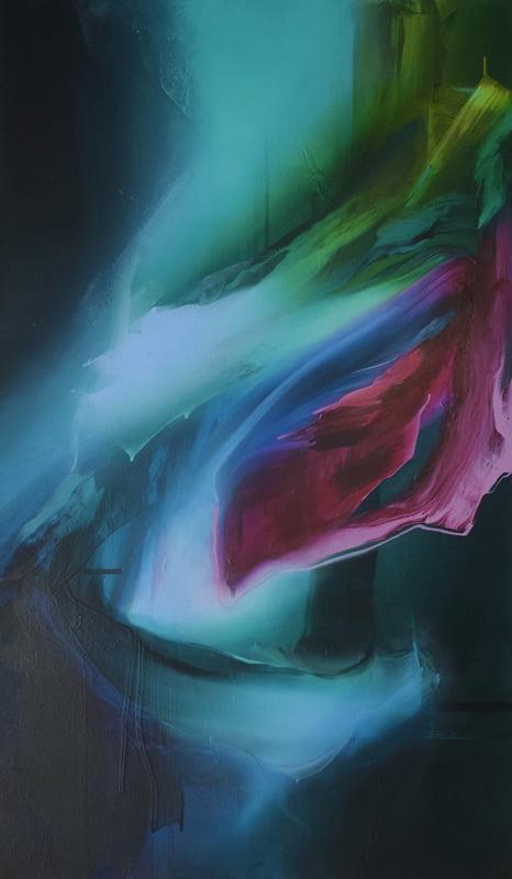 Liv Vardy Sinking Deep Painting