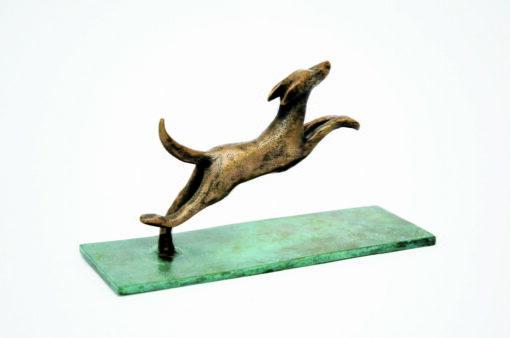 Yuko Takahashi Catch Me Bronze Sculpture Side Scaled
