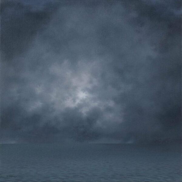 Debbie Mackenzie Peaceful Tempest Painting