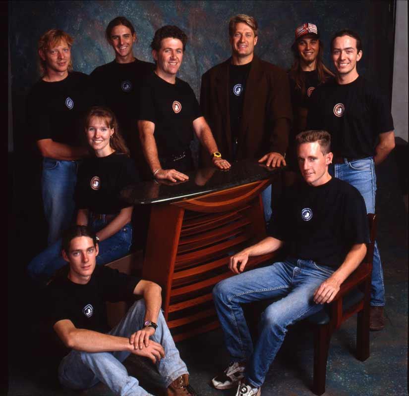 Jahroc Story So Far The Team 1995