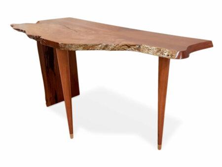 Raw Edge Karri Entry Table Side