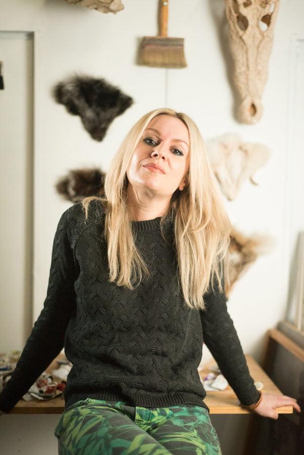 Stephanie Reisch Artist Studio 4