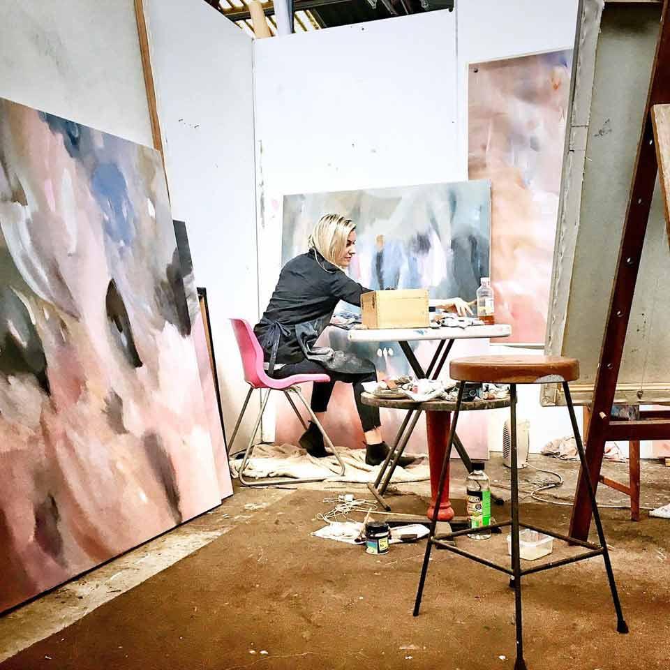 Stephanie Reisch Artists Studio 4 1