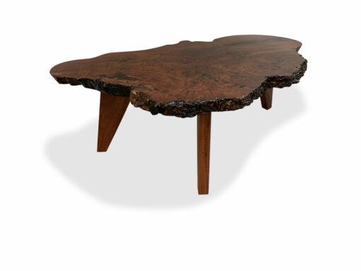 The Edge 47 Burl Coffee Table 3 Legs Scaled
