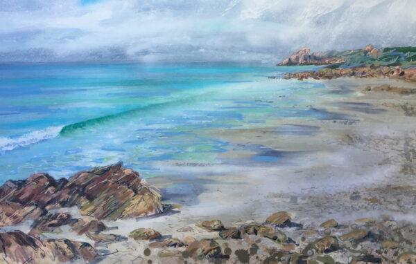 Joe Webster Castle Rock Near Meelup Painting Scaled