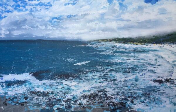 Joe Webster Sugarloaf Looking North Painting Scaled