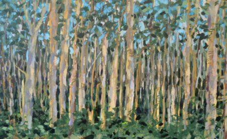 Joe Webster The Tourist And Kookaburra Calls Boranup Forest Painting