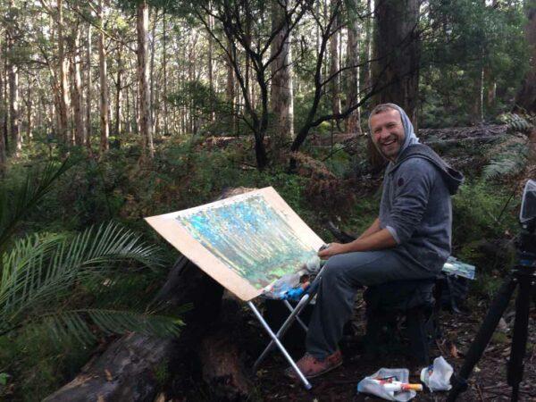 Joe Webster On Location At Boranup Forest 16Th July