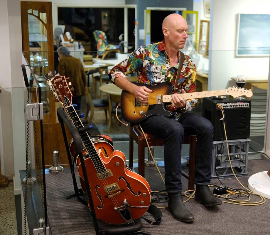 Graeme Dickinson Musician Live At Jahroc Galleries