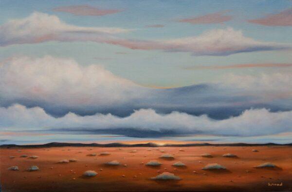 Shane Moad Sunrise In Pilbara Painting