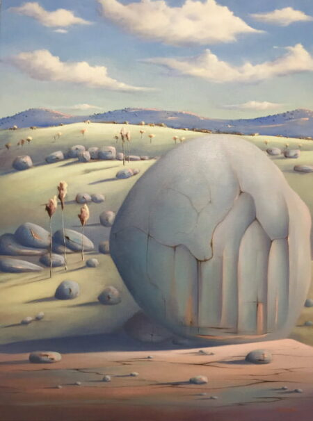 Shane Moad Winter Comes To The Valley Painting