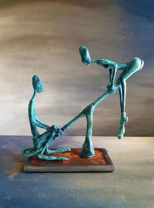 Andrew Taylor Equilibrium Sculpture