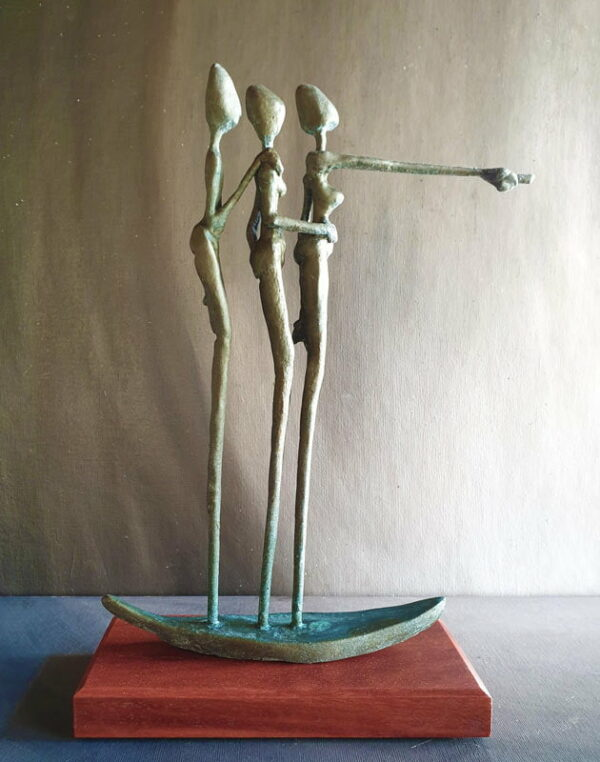 Andrew Taylor Storm Warning Sculpture