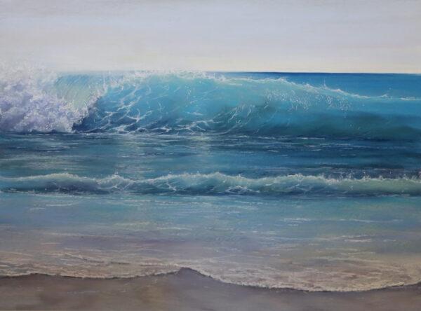 Ann Steer Sunlit Pastel Painting