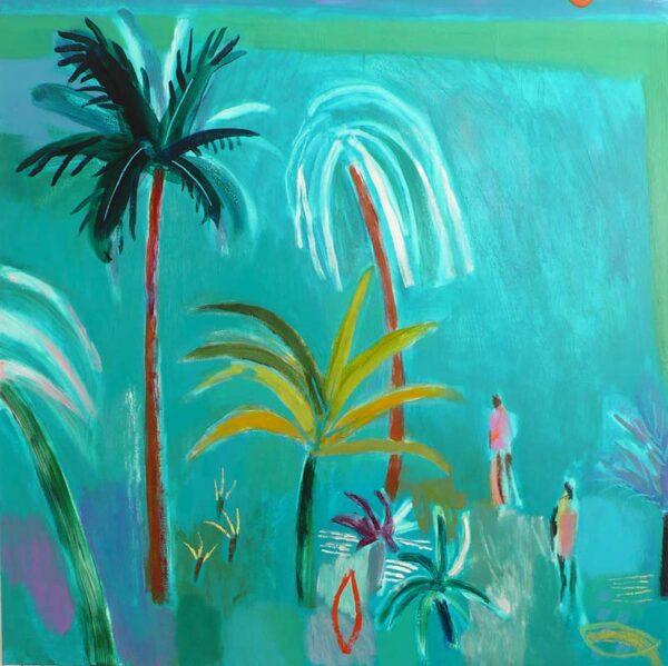 Becky Blair Coconut Walk Painting
