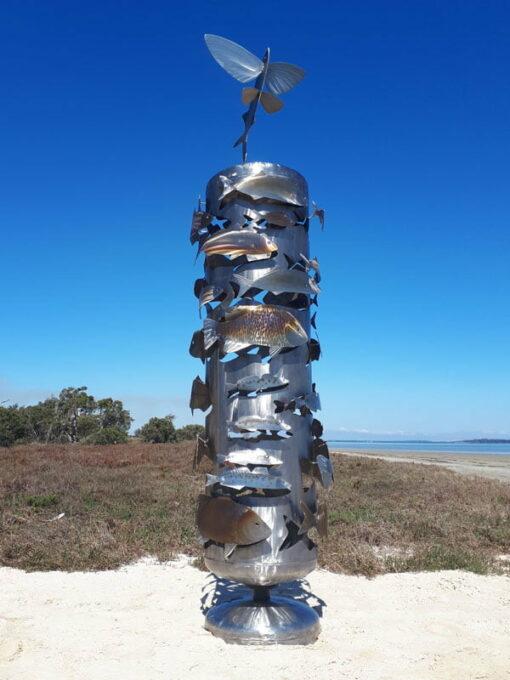 Jake Coghlan School Of Fish Sculpture