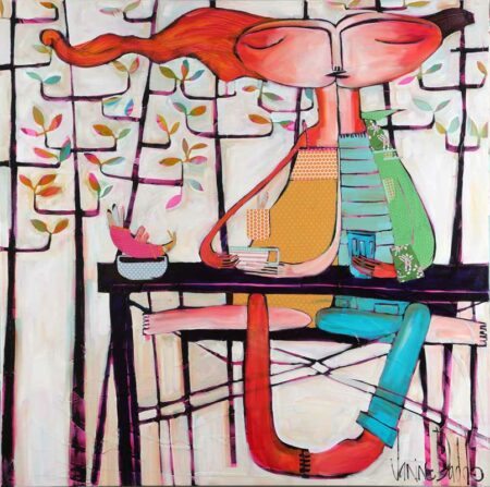 Janine Daddo Late Painting