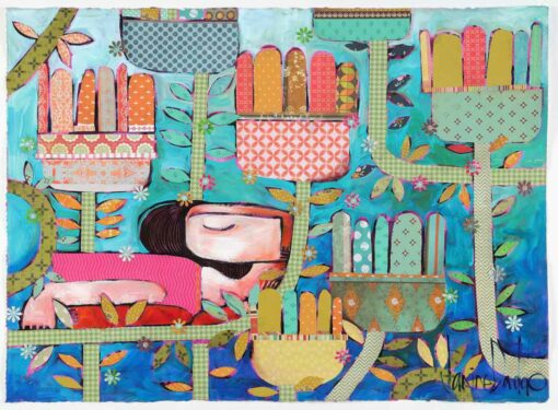 Janine Daddo Under The Canopy Painting