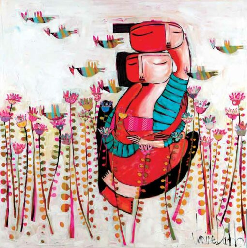 Janine Daddo You Painting
