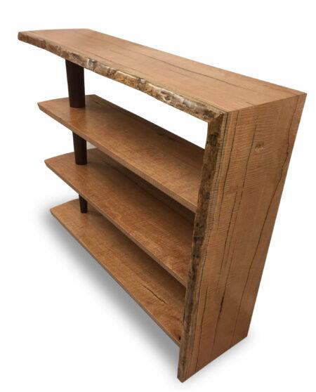 Large Marri Display Bookcase Marri Timber Scaled