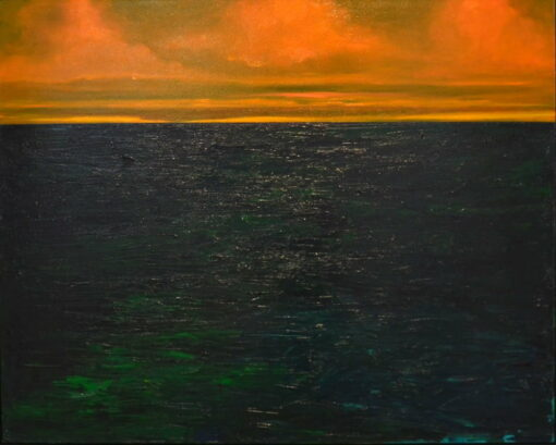 Shaun Atkinson Deep Ocean Love Painting