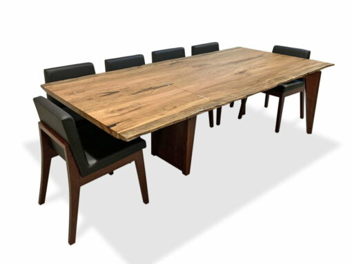 Stirling Extension Dining Table Extended With Bremer Chairs