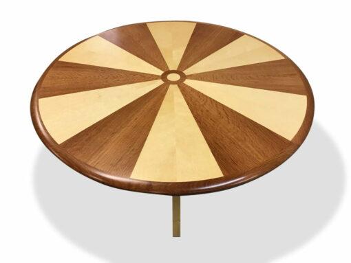 Sunburst Round Coffee Table