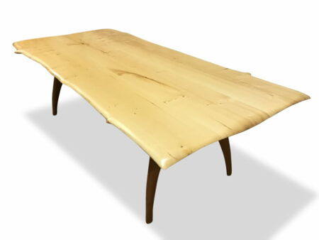 Tex Dining Table Huon Pine With Sheoak Base