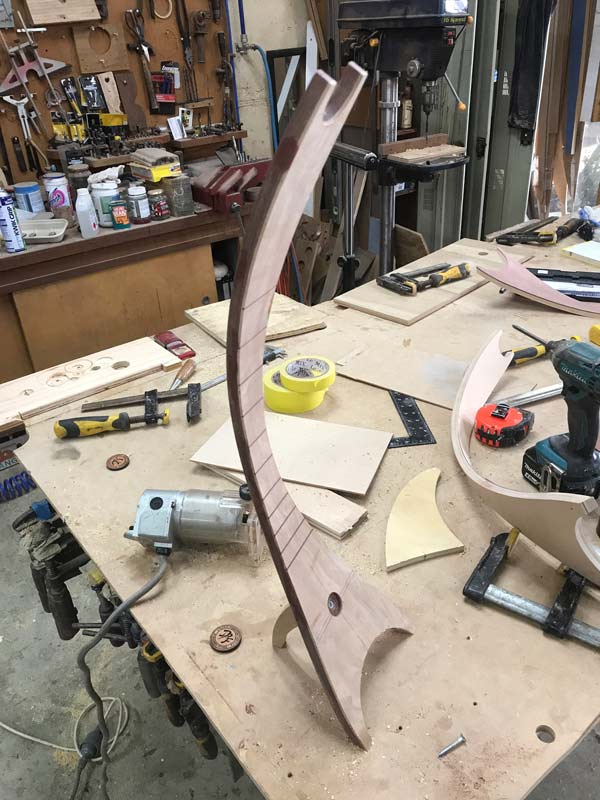 Get Uked Artistic Ukulele Stand In The Making 2