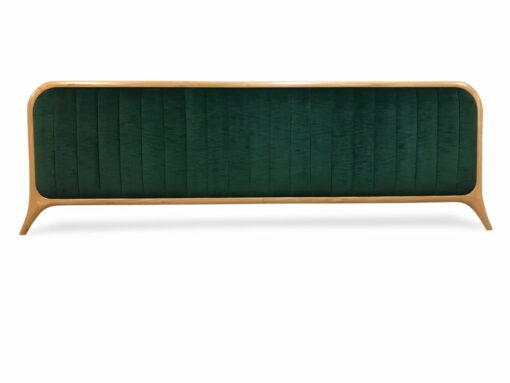 Grandeur Upholstered Wooden Bead Head