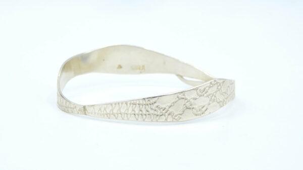 Michelle Gauntlett Fine Silver Antique Pieces Bracelet No 2