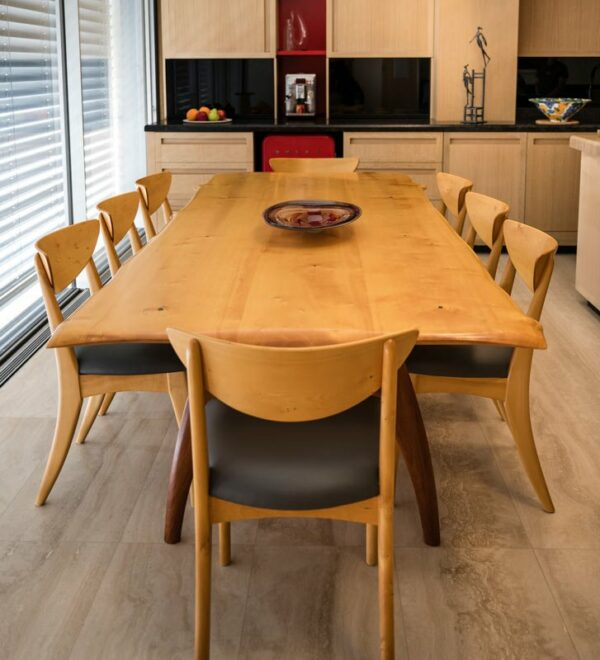 Tex Huon Pine Sheoak Dining Table In Home