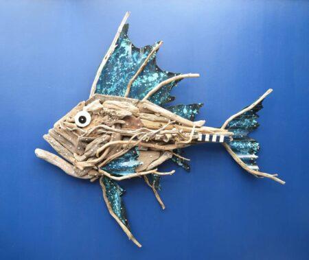 Charles Wilcox Atlantis Driftwood Sculpture