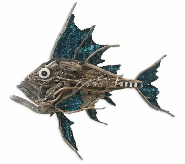 Charles Wilcox Atlantus Fish Sculpture