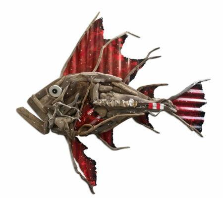 Charles Wilcox Oceanus Fish Sculpture